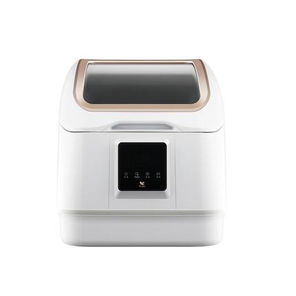布谷(BUGU)家用台式洗碗机4套台式免安装活氧清洗 高温除菌烘干 果蔬清洗 BG-DC41