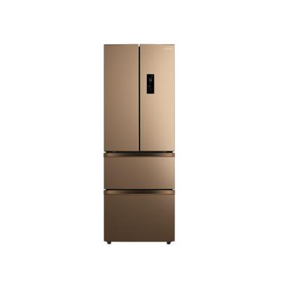 【华凌新品】328升法式多门智能冰箱 双变频节能保鲜 风冷无霜BCD-328WFPZH