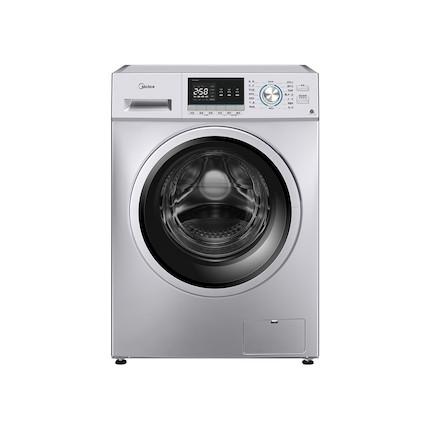 美的10KG 滚筒洗衣机 简约触控 巴氏除菌洗 95℃筒自洁 BLDC变频 MG100QY1