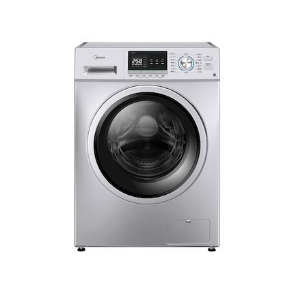 美的 10KG 洗烘一体洗衣机 简约触控 巴氏除菌洗 智能烘干 祛味空气洗 MD100QY1