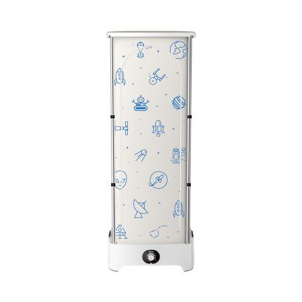 美的柜式烘干机家用小型速干衣消毒大容量烘衣服可折叠织物护理 MGJ90-02W