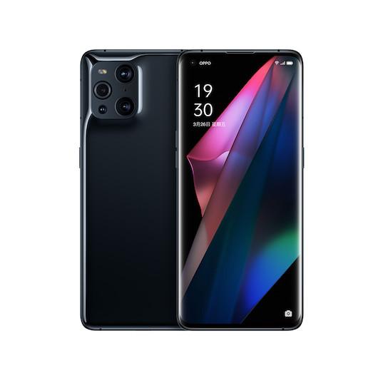 手机 OPPO Find X3 8GB+128GB 镜黑
