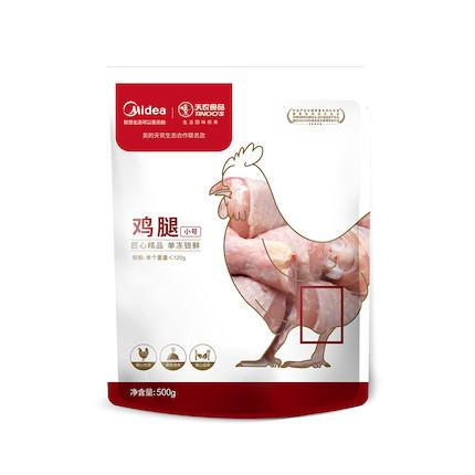 美的×天农 联名土鸡腿冷冻琵琶鸡腿 新鲜大鸡腿 烧烤卤味食材鸡大腿肉500g