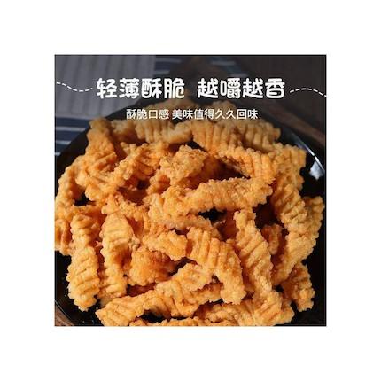 【艾蜜莉】轻薄酥脆脆香酥虾味卷400g箱装  零食 休闲食品